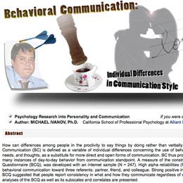 Behavioral Communication